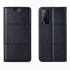 Custodia Portafoglio In Pelle Cover con Supporto per Huawei Honor Play4T Pro Nero