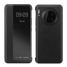 Custodia Portafoglio In Pelle Cover con Supporto per Huawei Mate 30 Nero