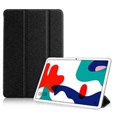 Custodia Portafoglio In Pelle Cover con Supporto per Huawei MatePad Nero