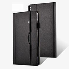 Custodia Portafoglio In Pelle Cover con Supporto per Huawei MatePad Pro 5G 10.8 Nero