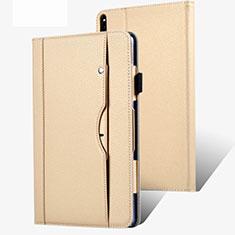 Custodia Portafoglio In Pelle Cover con Supporto per Huawei MatePad Pro 5G 10.8 Oro
