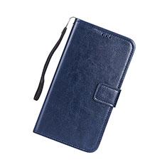 Custodia Portafoglio In Pelle Cover con Supporto per Huawei Nova Lite 3 Blu