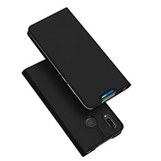 Custodia Portafoglio In Pelle Cover con Supporto per Huawei P Smart Z Nero