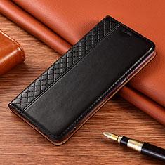 Custodia Portafoglio In Pelle Cover con Supporto per Nokia 2.4 Nero