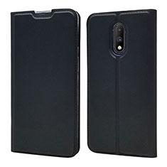 Custodia Portafoglio In Pelle Cover con Supporto per OnePlus 7 Nero