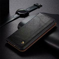 Custodia Portafoglio In Pelle Cover con Supporto per Realme 5 Pro Nero