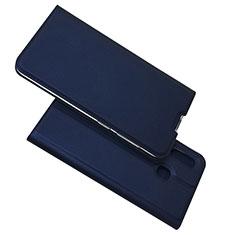 Custodia Portafoglio In Pelle Cover con Supporto per Samsung Galaxy A30 Blu
