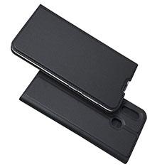 Custodia Portafoglio In Pelle Cover con Supporto per Samsung Galaxy A30 Nero