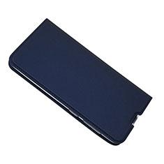 Custodia Portafoglio In Pelle Cover con Supporto per Samsung Galaxy A50 Blu