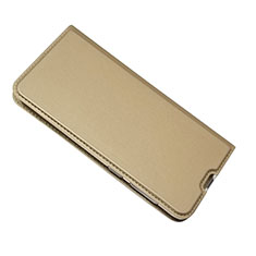 Custodia Portafoglio In Pelle Cover con Supporto per Samsung Galaxy A50 Oro