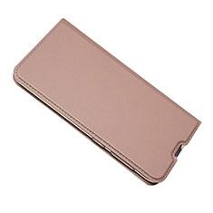 Custodia Portafoglio In Pelle Cover con Supporto per Samsung Galaxy A50 Oro Rosa
