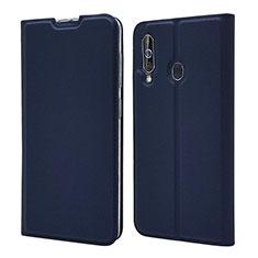 Custodia Portafoglio In Pelle Cover con Supporto per Samsung Galaxy A60 Blu