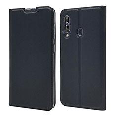 Custodia Portafoglio In Pelle Cover con Supporto per Samsung Galaxy A60 Nero