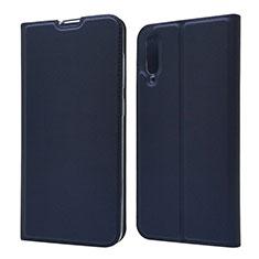Custodia Portafoglio In Pelle Cover con Supporto per Samsung Galaxy A70 Blu