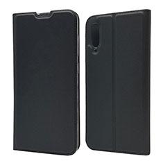 Custodia Portafoglio In Pelle Cover con Supporto per Samsung Galaxy A70 Nero
