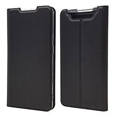 Custodia Portafoglio In Pelle Cover con Supporto per Samsung Galaxy A80 Nero