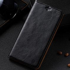 Custodia Portafoglio In Pelle Cover con Supporto per Samsung Galaxy A81 Nero