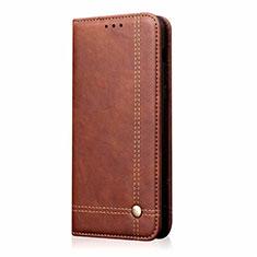 Custodia Portafoglio In Pelle Cover con Supporto per Samsung Galaxy M31 Marrone