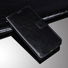 Custodia Portafoglio In Pelle Cover con Supporto per Sony Xperia XA3 Nero