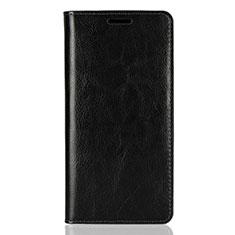 Custodia Portafoglio In Pelle Cover con Supporto per Sony Xperia XZ2 Nero