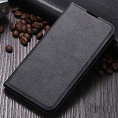 Custodia Portafoglio In Pelle Cover con Supporto per Xiaomi Mi Note 10 Nero