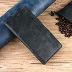 Custodia Portafoglio In Pelle Cover con Supporto per Xiaomi Poco X3 NFC Nero