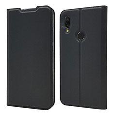 Custodia Portafoglio In Pelle Cover con Supporto per Xiaomi Redmi 7 Nero