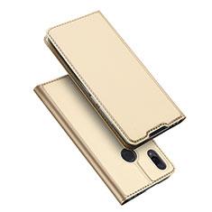 Custodia Portafoglio In Pelle Cover con Supporto per Xiaomi Redmi Note 7 Pro Oro