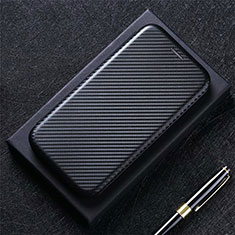 Custodia Portafoglio In Pelle Cover con Supporto T01 per Huawei Mate 40 Pro+ Plus Nero