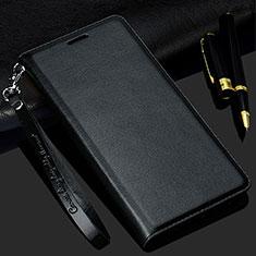 Custodia Portafoglio In Pelle Cover con Supporto T02 per Samsung Galaxy S20 Ultra Nero