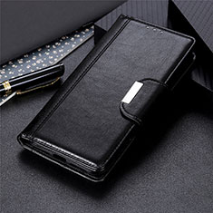 Custodia Portafoglio In Pelle Cover con Supporto T04 per Realme X50 Pro 5G Nero