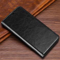 Custodia Portafoglio In Pelle Cover con Supporto T04 per Samsung Galaxy S20 Ultra Nero
