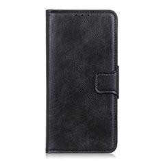 Custodia Portafoglio In Pelle Cover con Supporto T06 per OnePlus 8 Pro Nero