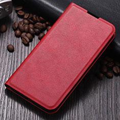 Custodia Portafoglio In Pelle Cover con Supporto T06 per Samsung Galaxy Note 10 Plus 5G Rosso
