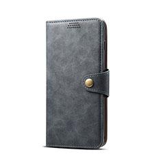Custodia Portafoglio In Pelle Cover con Supporto T08 per Samsung Galaxy S10e Nero