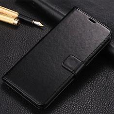 Custodia Portafoglio In Pelle Cover con Supporto T09 per Huawei Honor 20 Pro Nero