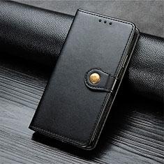Custodia Portafoglio In Pelle Cover con Supporto T10 per Oppo Find X2 Lite Nero