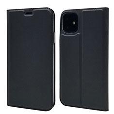 Custodia Portafoglio In Pelle Cover con Supporto T11 per Apple iPhone 11 Nero