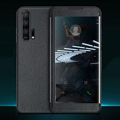 Custodia Portafoglio In Pelle Cover con Supporto T11 per Huawei Honor 20 Pro Nero
