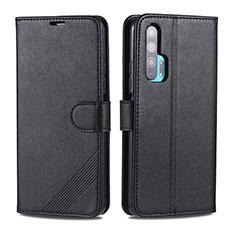 Custodia Portafoglio In Pelle Cover con Supporto T12 per Huawei Honor 20 Pro Nero