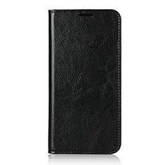 Custodia Portafoglio In Pelle Cover con Supporto T14 per Huawei P40 Pro Nero