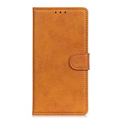 Custodia Portafoglio In Pelle Cover con Supporto T14 per Samsung Galaxy Note 20 Ultra 5G Arancione