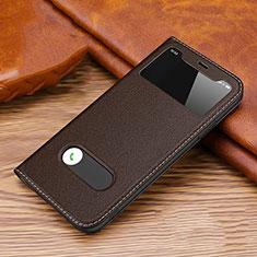 Custodia Portafoglio In Pelle Cover con Supporto T20 per Apple iPhone 11 Pro Marrone