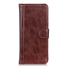 Custodia Portafoglio In Pelle Cover con Supporto T21 per Samsung Galaxy Note 20 Ultra 5G Marrone
