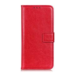Custodia Portafoglio In Pelle Cover con Supporto T22 per Samsung Galaxy Note 20 Ultra 5G Rosso