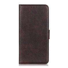 Custodia Portafoglio In Pelle Cover con Supporto T25 per Samsung Galaxy Note 20 Ultra 5G Marrone