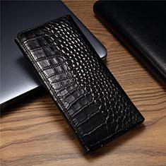 Custodia Portafoglio In Pelle Cover T01 per Huawei Mate Xs 5G Nero