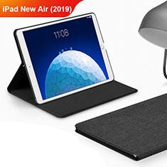 Custodia Portafoglio In stoffa con Supporto per Apple iPad New Air (2019) 10.5 Nero