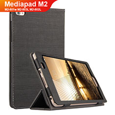 Custodia Portafoglio In stoffa con Supporto per Huawei Mediapad M2 8 M2-801w M2-803L M2-802L Nero