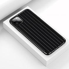 Custodia Silicone Cover Morbida Line C01 per Apple iPhone 11 Pro Nero